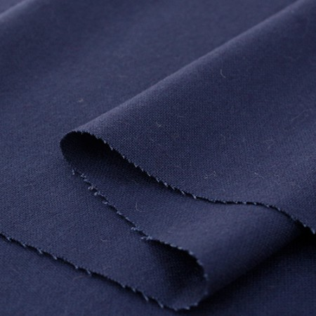 Large-wool blend fabric) Gran Blue