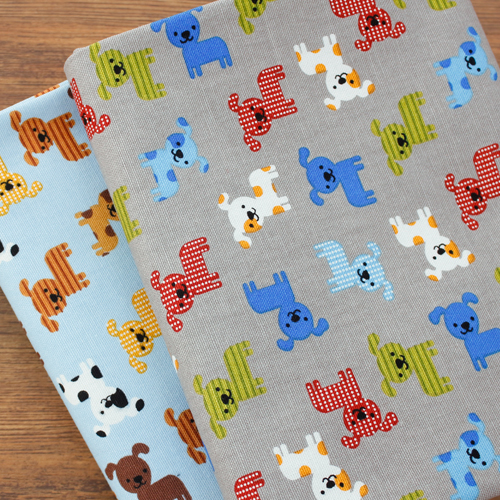 Cotton fabric 20 number oxford cloth) My pet (two kinds)
