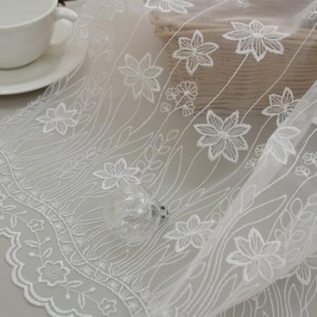 TR Embroidery Bon Barans) Cosmos_130cm