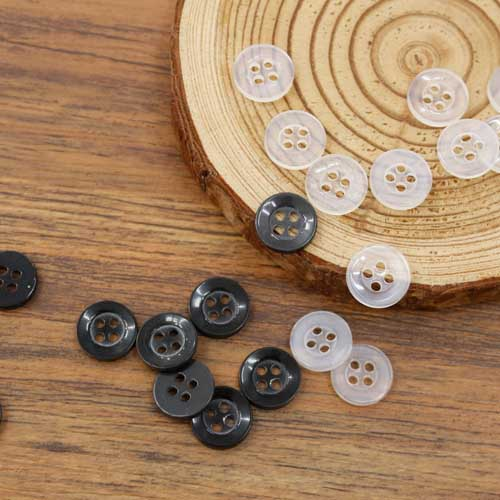 [45Piece] basic simple button 11mm (2 kinds)