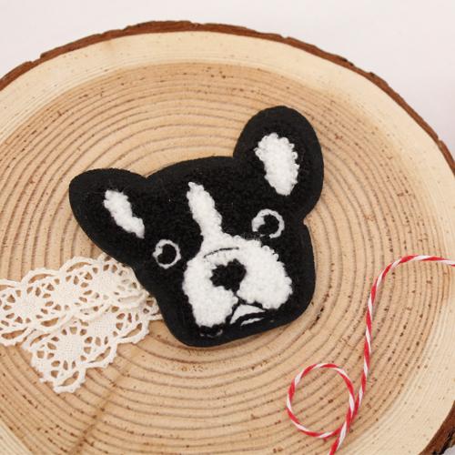 Sewing ceremony fan) Poggle bulldog [45]