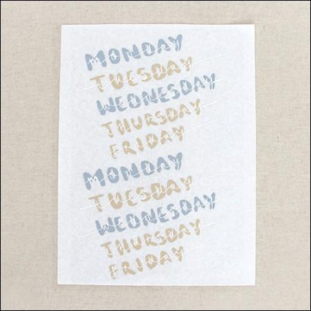 Paper Transfer) One Week_Gray & Beige [TP012]