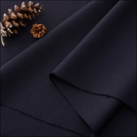 Widescreen - Wool blend silk) Dark Navy
