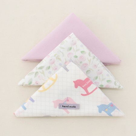 [It's 050] Fabric Package) Bonjour Neck Hermp (3 Pack) 1 / 4Hermp