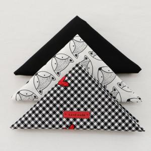 Fabric Package It's Package 055 Black & Heart 1 / 4Hermp 3 Pack