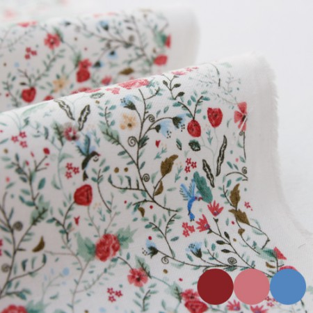 20 woven fabrics) Small garden (3 kinds)