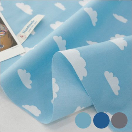 Cotton blend) Cumulus cloud (3 kinds)