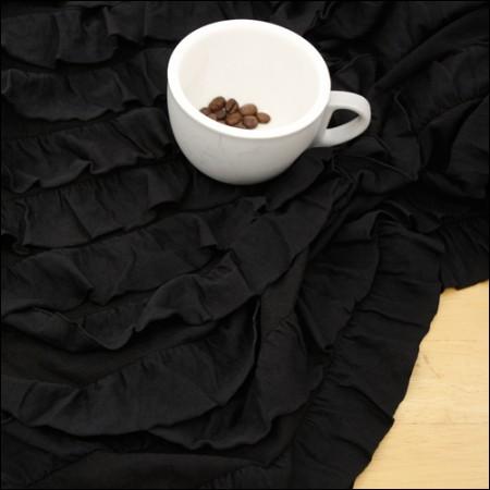 Large-poly polygonal span) Kangkang black