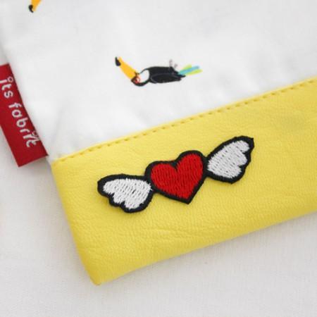 Sticking fan) Mini love angel [52]