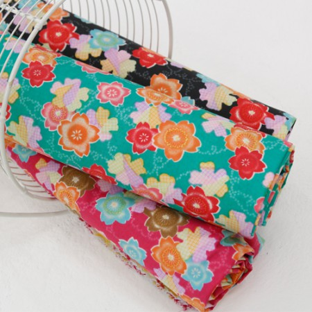 -PU urethane double-sided waterproof cloth) Vivid flower (three kinds)