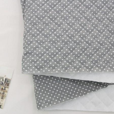 Cotton blend leathers) Mini dots [5050]