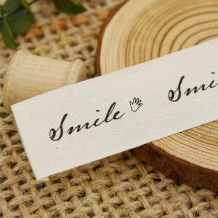 [2Piece] placard label) smile hand greetings