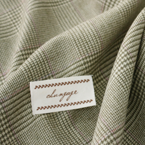 Widescreen - Wool Span) Vintage Modern Check