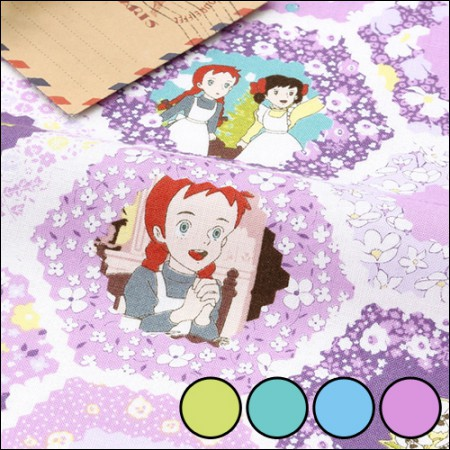 Red Hair Anne 1 / 2Hermp-Cotton) Hexagon Melody (4 species)
