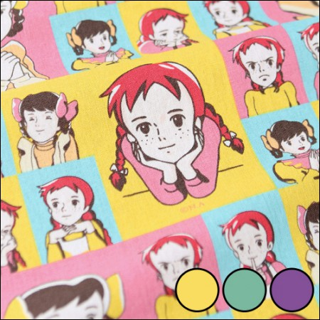Red Hair Anne 1 / 2Hermp-Cotton Linen) Pop Art (3 species)
