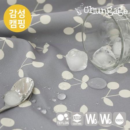 Sensibility camping fabric cotton-like tarpaulin wide cherry stick bonbon T020