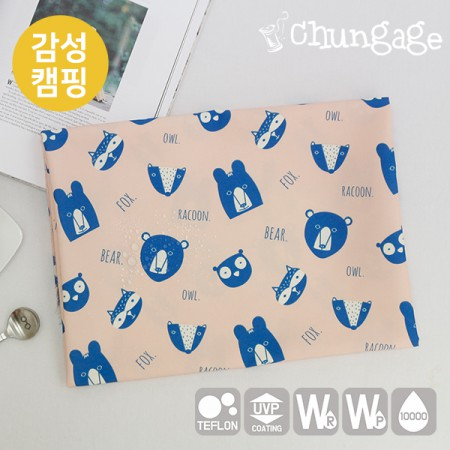 Emotional camping fabric Cotton-like tarpaulin Dramatically large disturbance T022