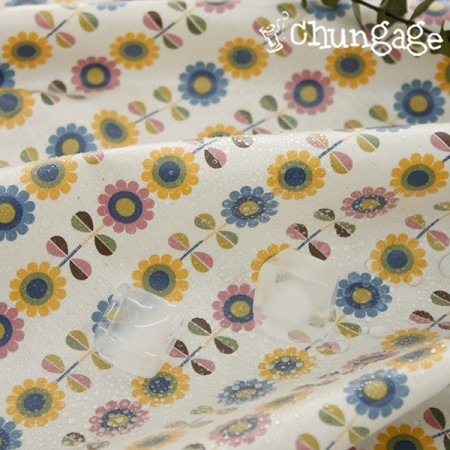 Waterproof fabric Non-toxic TPU laminate cloth) Angel flower