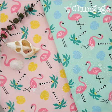 "(DTP waterproof fabric) Hawaiian flamingos (2 kinds) <div style=""display:none;""> Camping Fabric / Waterproof Fabric / Fabric / Fabric / Shop / Waterproof Fabric / Emotional Fabric / Waterproof Tablecloth </div>"
