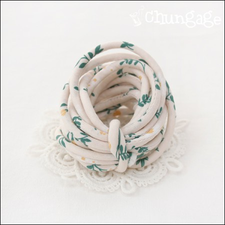 Fabric String Strapping Flipping Greenery (3Hermp)