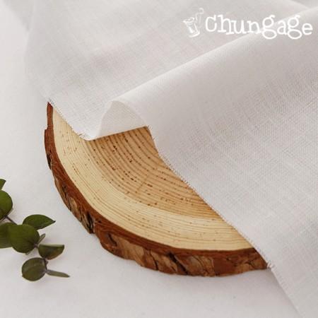 Wool blend) Wool Linen [Light Gray]