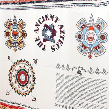 30 weft plain weave paper) Aztec Koko