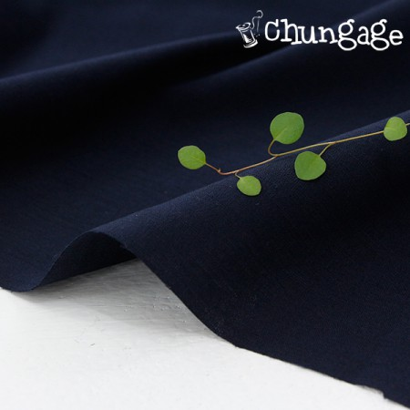Wide - Polymer plate) Simple navy