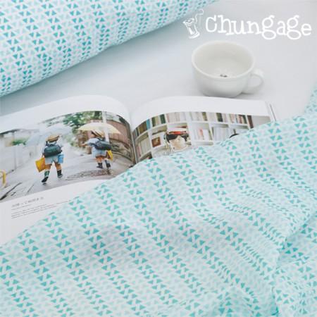 Seersucker Jijimi Ripple Fabric Blue Light 704