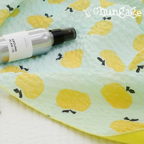 Seersucker Jijimi Ripple Fabric Mint 냠냠 706