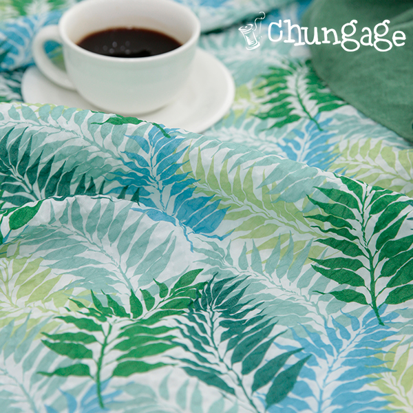 Searcist Gypsy Ripple Fabric Widespread) Green Leaf [713]