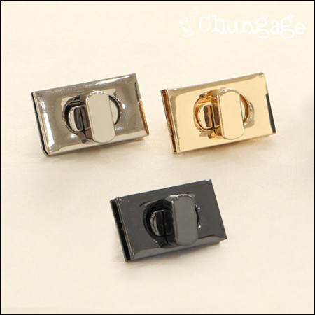 Basic locking square lock 3cm bag (3 species)