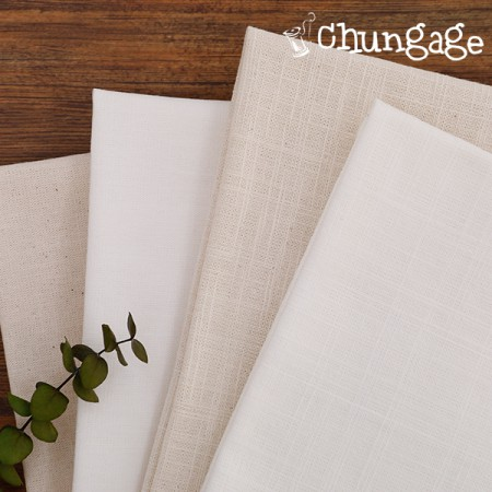 Fabric Package French Embroidery Package Fabric 10, 7 No. Cotton Fabric Thousands of French 1 / 4Hermp (4-pack)
