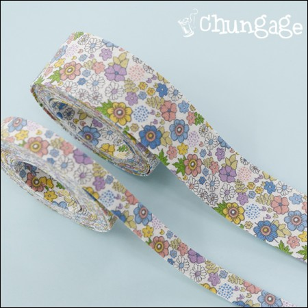 Cotton Fabric Ribbon Fabric Ribbon Tape Rubing Oil (3Hermp / 2 species)
