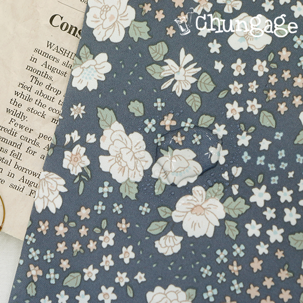 Largely - Polytwill waterproof fabric) Camming flower