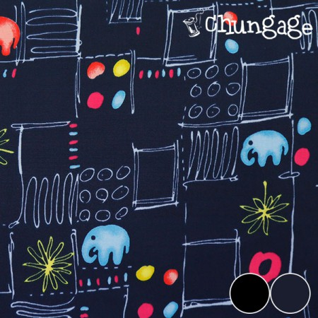 Large-Dupo waterproof fabric) Elephant of the night (two species)