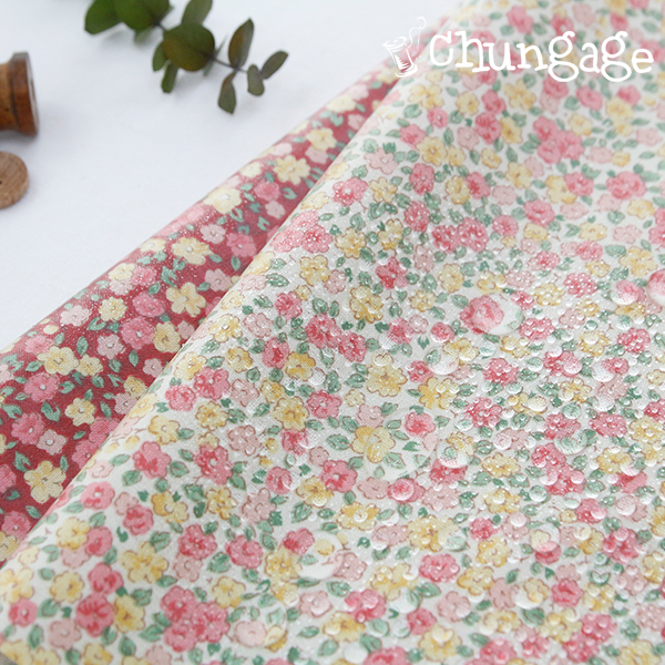 Waterproof Fabric Non-toxic TPU Laminate) Blossom Candy (2 kinds)