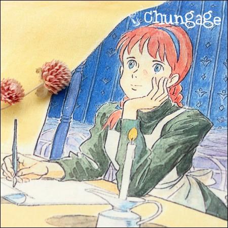 Red Hair Ann Special - Cotton Linen) Cut 2_multi
