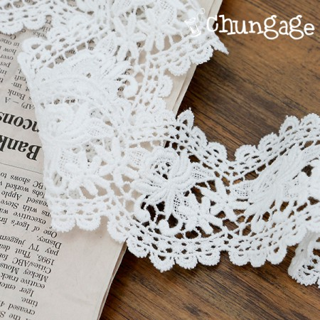 Chemical Lace Chemical 024 Rose Daisy White Eye