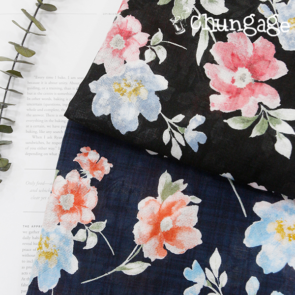 Large-Yoru-asa) antique flower (two kinds)