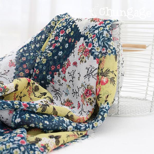 Large-yoru chiffon) flower patch [28]