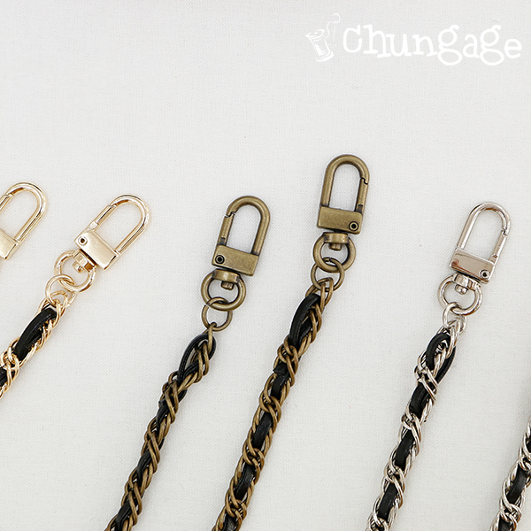 Bags Accessories Fabric Chain Leather Cross Chain Chain Bag String 128cm (3 types) [B011]