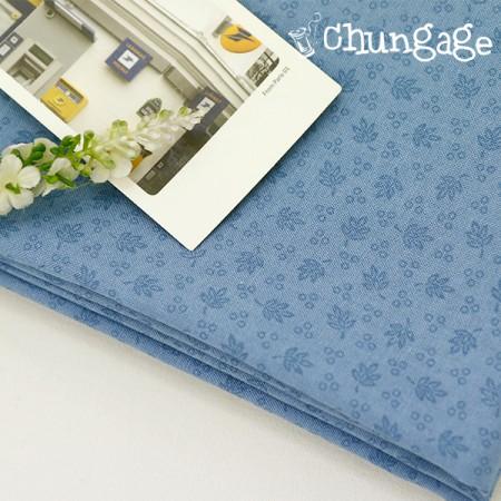 Cotton 20) Blue bouquet