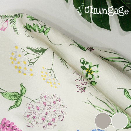 Large -Washing Linen) Plant Illustrations (2 kinds)