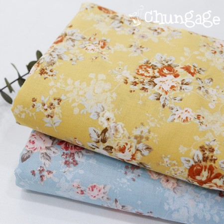 Large -30 sleeping fabric) Palms rose (two kinds)