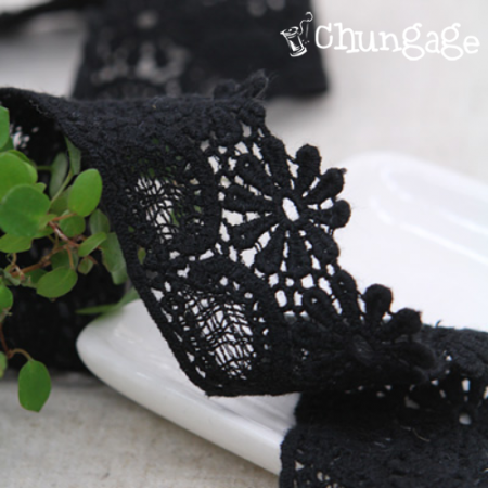 Chemical Lace Chemical 002 Heaven Flower Black