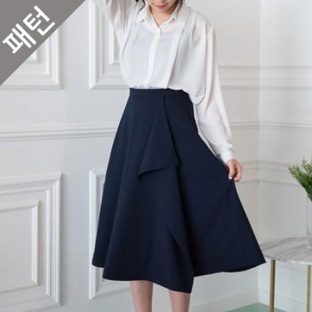 Patterns - Female) Female skirt [P1049]