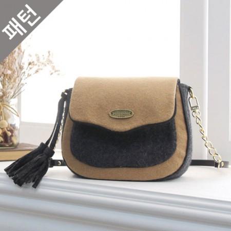 Patterns-Bag) Wool Tassel Mini Bag [P982]
