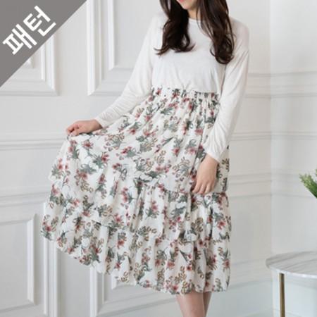 Patterns - Women) Women Skirts [P1050]