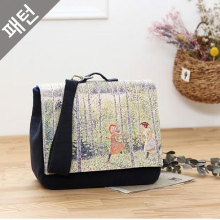 Patterns-Bag) Square Two-Way Bag [P950]