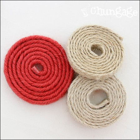 Jute string) Natural Jute Cord (three)